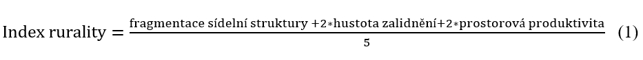 Index rurality